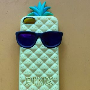 Victoria secret pink pineapple blue iPhone 6 cover